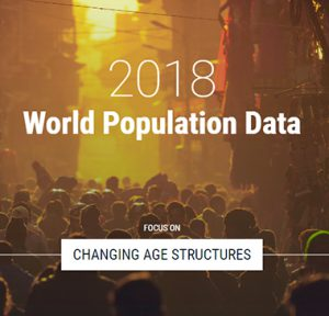 PRB launches 2018 WPD site with focus on changing age structures across the globe and historical time