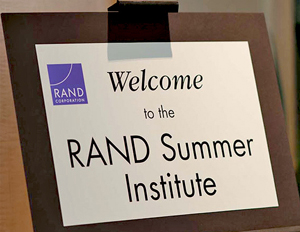 2015 RAND Summer Institute addresses critical issues of population aging: July 6-9, 2015