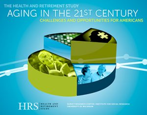Aging in the 21st Century synthesizes large range of research output using HRS data