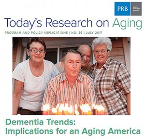 PRB report looks at the changing face of dementia