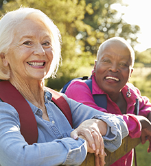 """Carstensen says """"older people are happier"""" in their more selective interactions"""