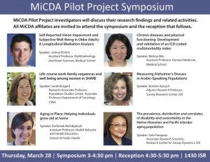 MiCDA Pilot Project Symposium