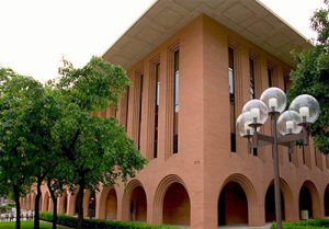 USC-Davis School of Gerontology building