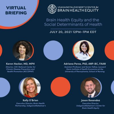 2021 Brain Health Equity and the Social Determinants of Health