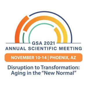 GSA 2021 Annual Scientific Meeting