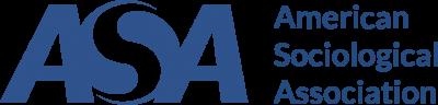 logo blue American Sociological Association ASA