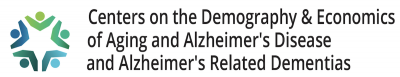 logo signature for Coordinating Center for the Centers of the Demography & Economics of Aging and Alzheimer's Disease and Alzheimer's Related Dementias